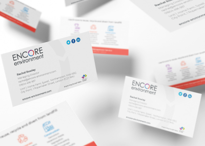 Encore Environment Business Card