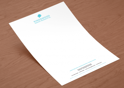 Kingswood Design Letterhead