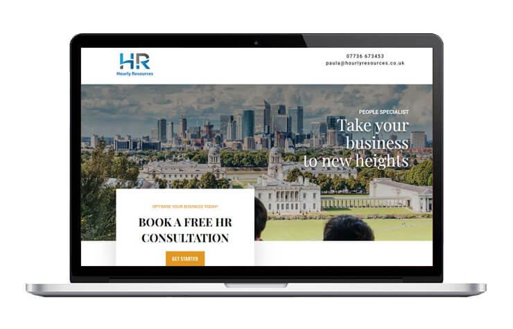 Hourly Resources Responsive Website