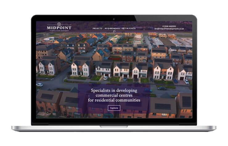 Midpoint Developments Responsive Website