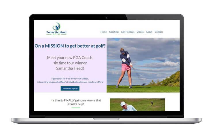 Samantha Head Golf
