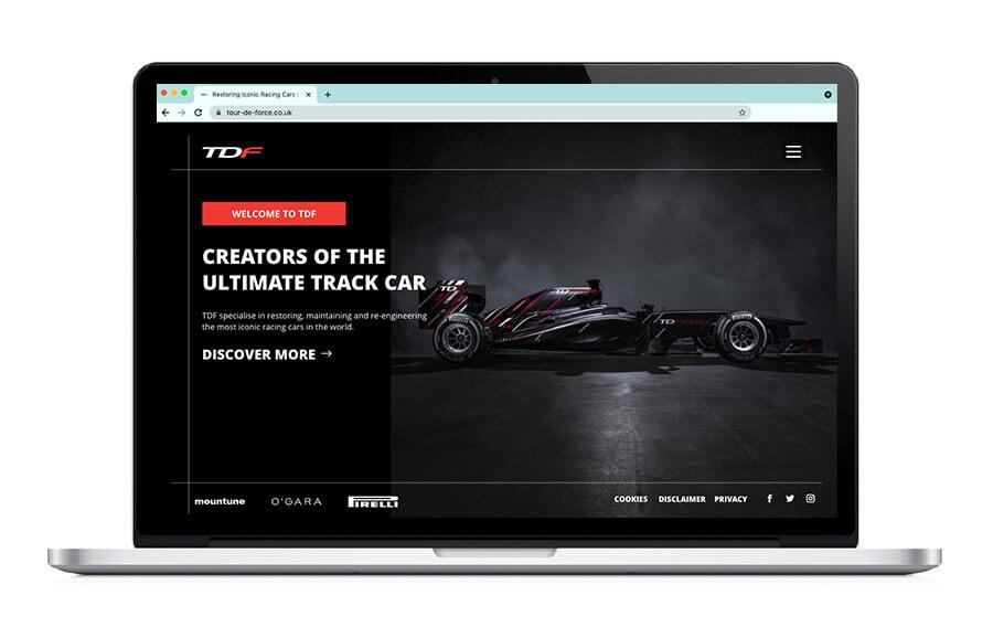 Tour-De-Force Responsive Website Build
